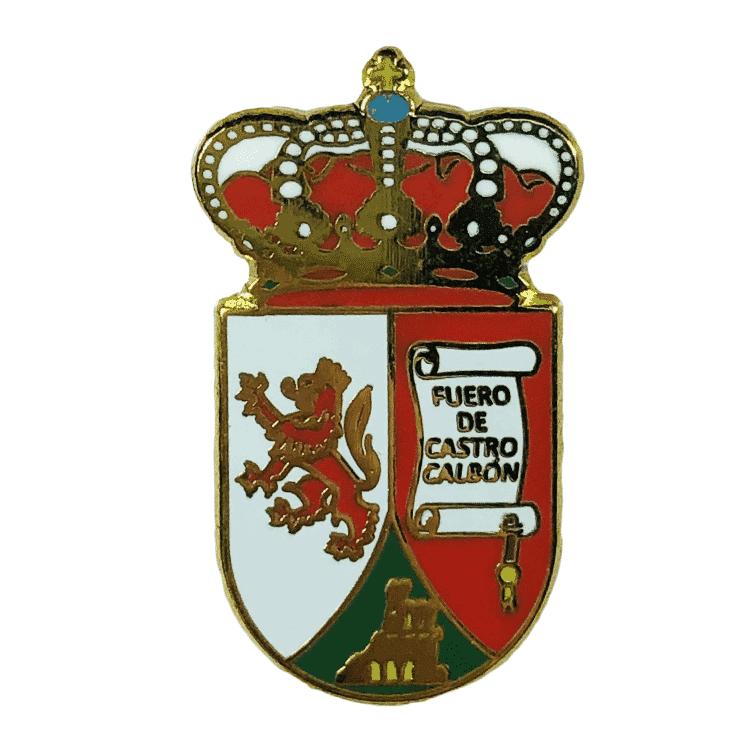 pin escudo heraldico castrocalbon leon