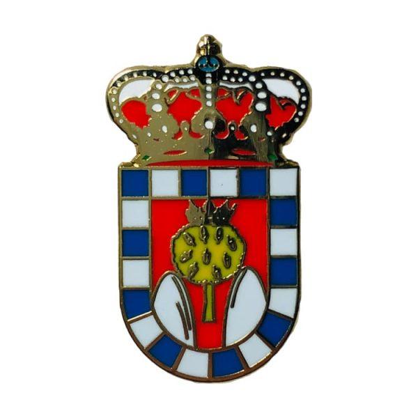 pin escudo heraldico collado del miron avila
