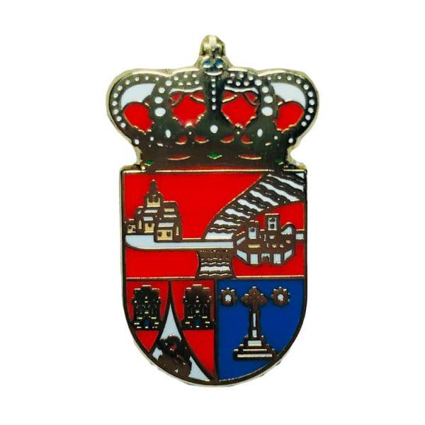pin escudo heraldico entrala zamora