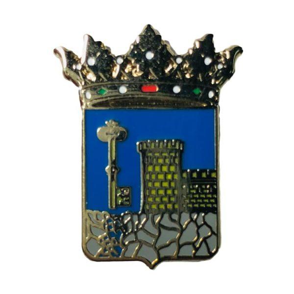 pin escudo heraldico espeluy jaen
