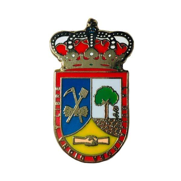 pin escudo heraldico guijarrosa cordoba