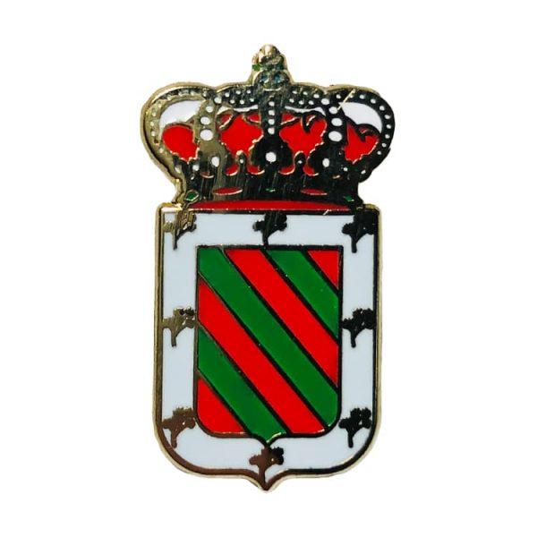 pin escudo heraldico hinojales jaen