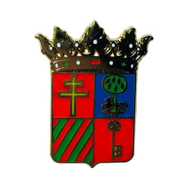 pin escudo heraldico hornos jaen