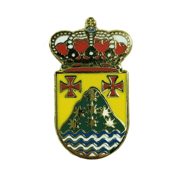 pin escudo heraldico irixoa la coruna