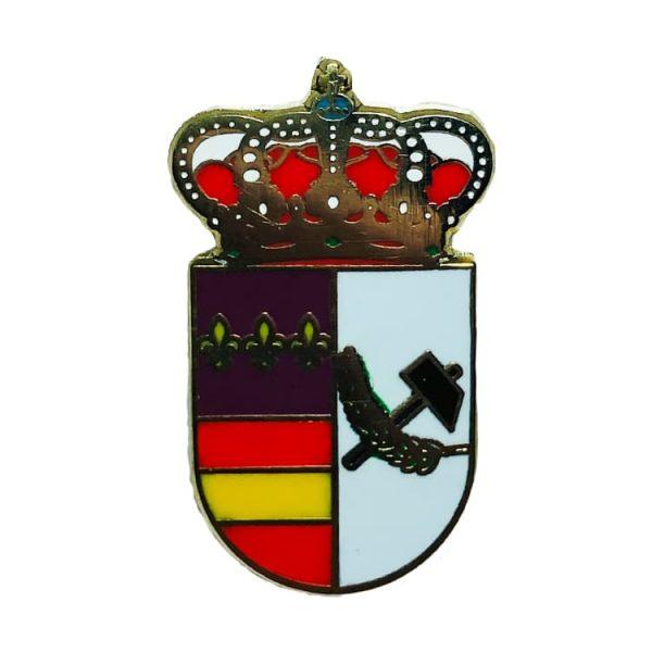 pin escudo heraldico los gallardos almeria