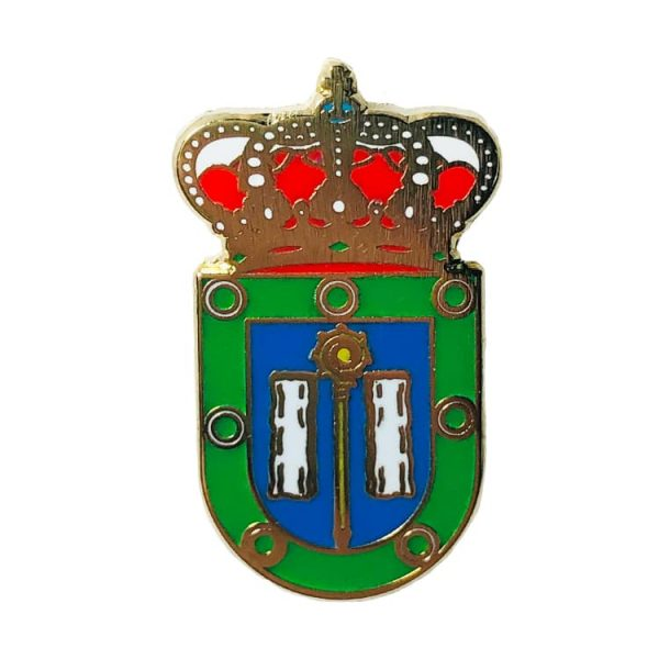 pin escudo heraldico lousame la coruna