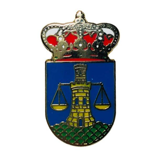 pin escudo heraldico mesia la coruna