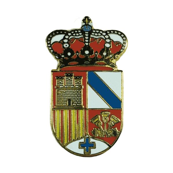 pin escudo heraldico millena alicante