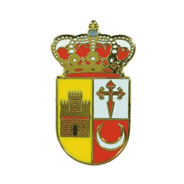 pin escudo heraldico muria alicante
