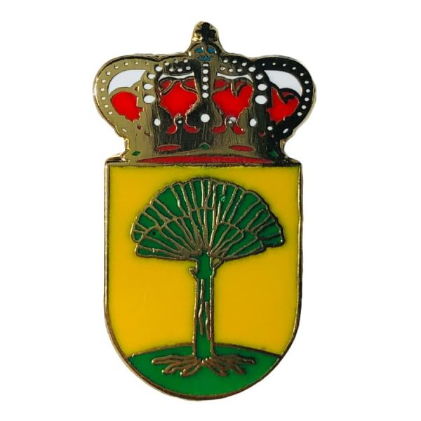 pin escudo heraldico o pino a coruna