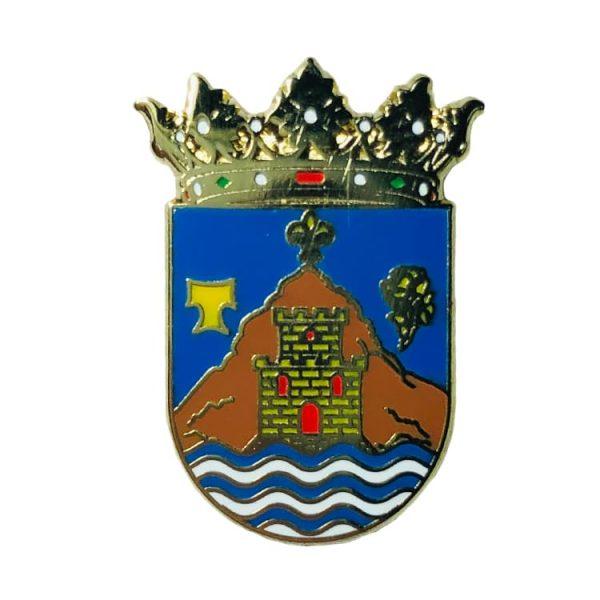 pin escudo heraldico salinas alicante