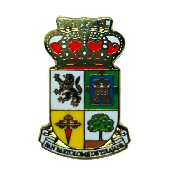 pin escudo heraldico san bartolome de tirajana las palmas