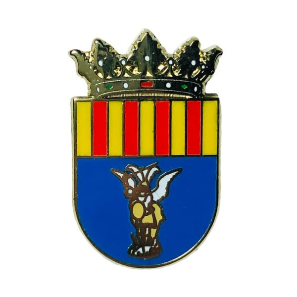pin escudo heraldico san miguel de salinas alicante