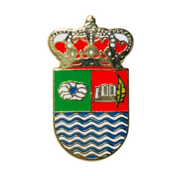 pin escudo heraldico santa amalia badajoz