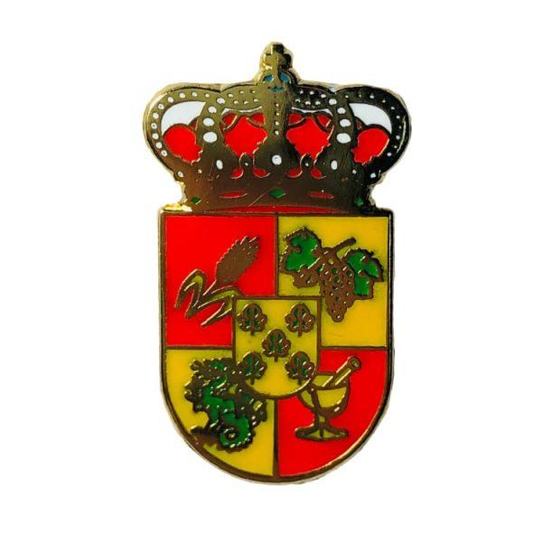 pin escudo heraldico santa marta de los barros badajoz