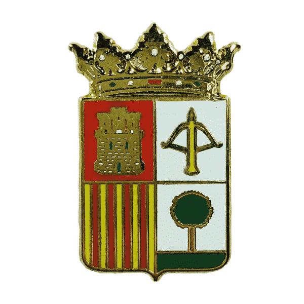 pin escudo heraldico torralba de aragon huesca