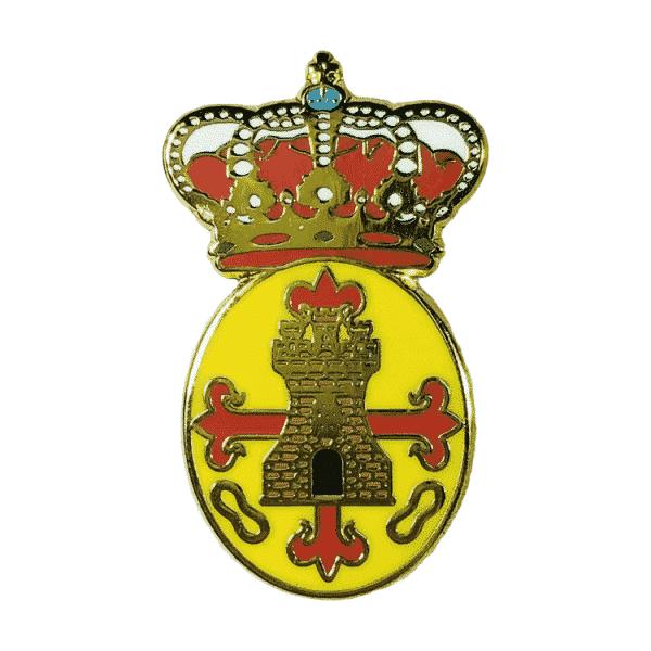pin escudo heraldico torredonjimeno jaen