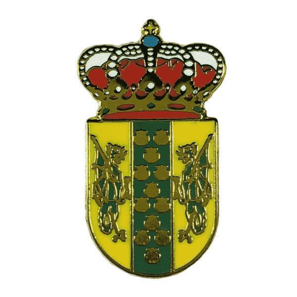 pin escudo heraldico vedra la coruna