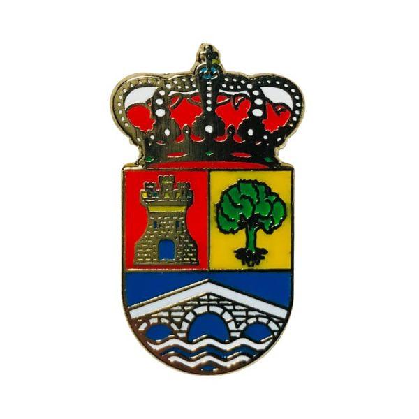 pin escudo heraldico villabanez valladolid