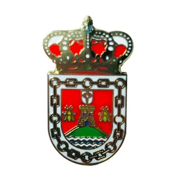 pin escudo heraldico villaco valladolid