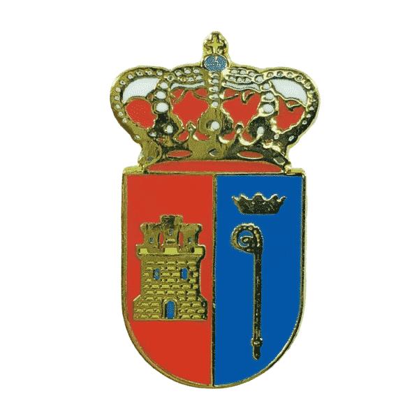 pin escudo heraldico villaumbrales palencia