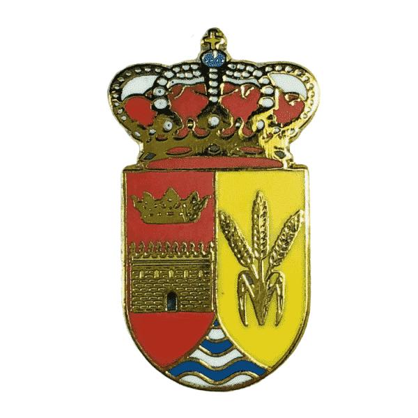 pin escudo heraldico villaviudas palencia