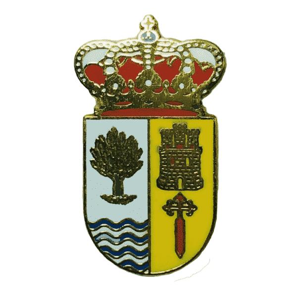pin escudo heraldico vilvestre salamanca