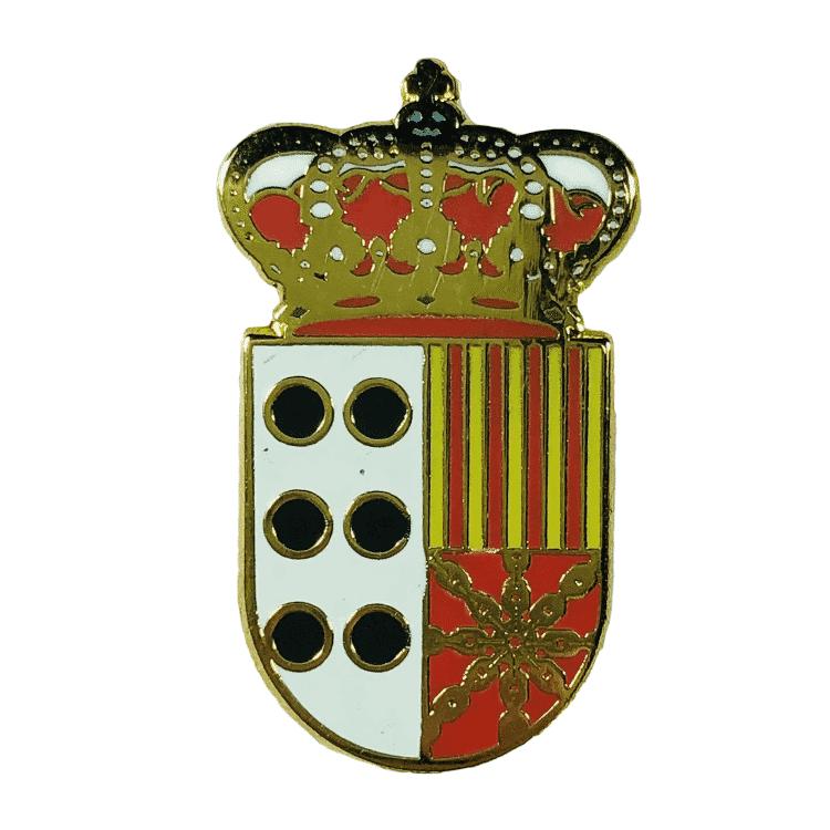 pin escudo heraldico vinaceite teruel