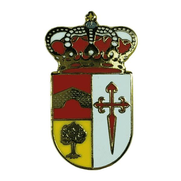 pin escudo heraldico yelamos de arriba guadalajara