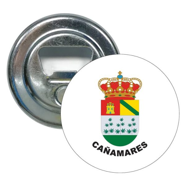 abridor redondo escudo heraldico canamares