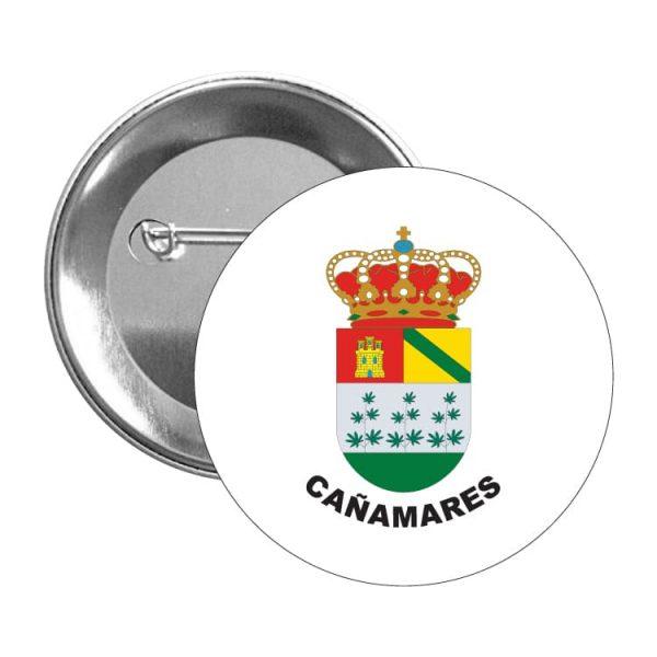 chapa escudo heraldico canamares