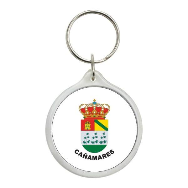 llavero redondo escudo heraldico canamares