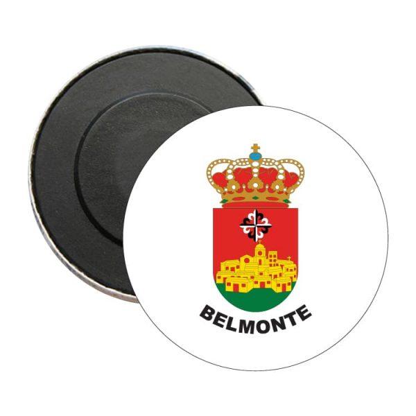 iman redondo escudo heraldico belmonte