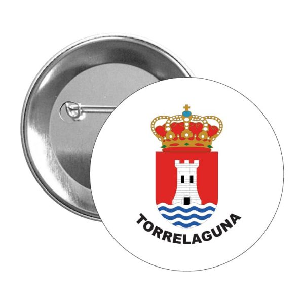 chapa escudo heraldico torrelaguna