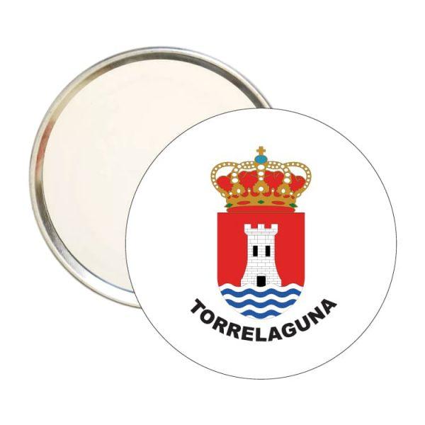 espejo redondo escudo heraldico torrelaguna