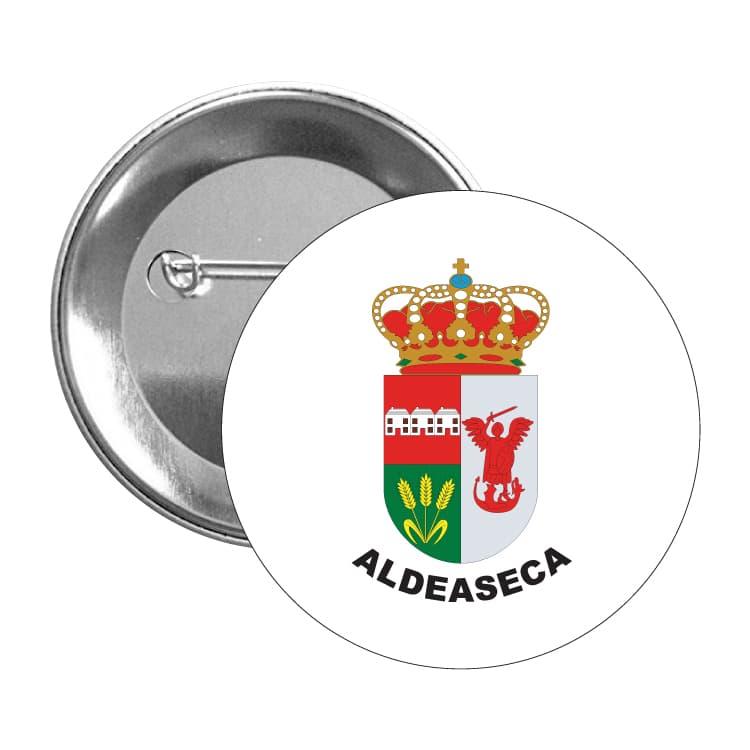 chapa escudo heraldico aldeaseca