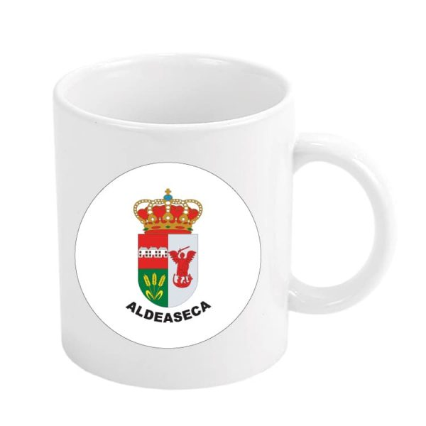 taza escudo heraldico aldeaseca