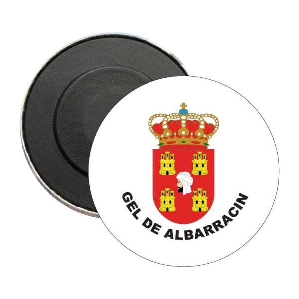 iman redondo escudo heraldico gel de albarracin