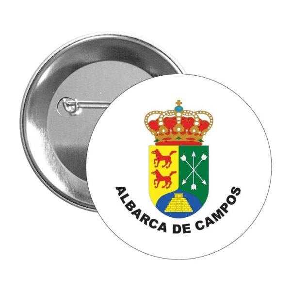 1005 chapa escudo heraldico albarca de campos