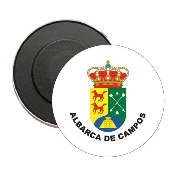 iman redondo escudo heraldico albarca de campos