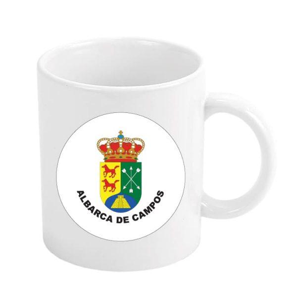 taza escudo heraldico albarca de campos
