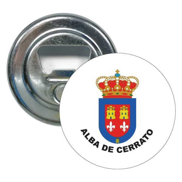 abridor redondo escudo heraldico alba de cerrato