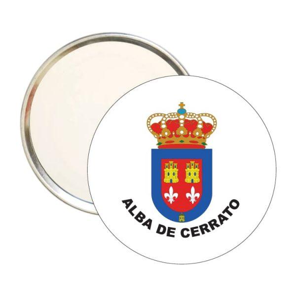 espejo redondo escudo heraldico alba de cerrato