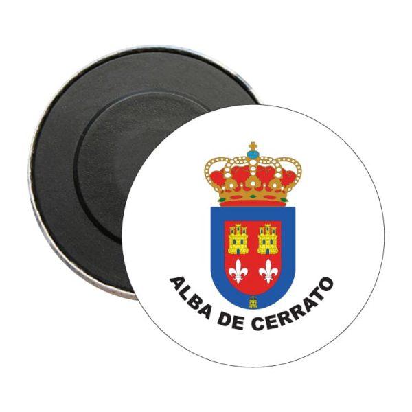 iman redondo escudo heraldico alba de cerrato