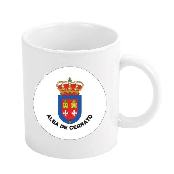 taza escudo heraldico alba de cerrato
