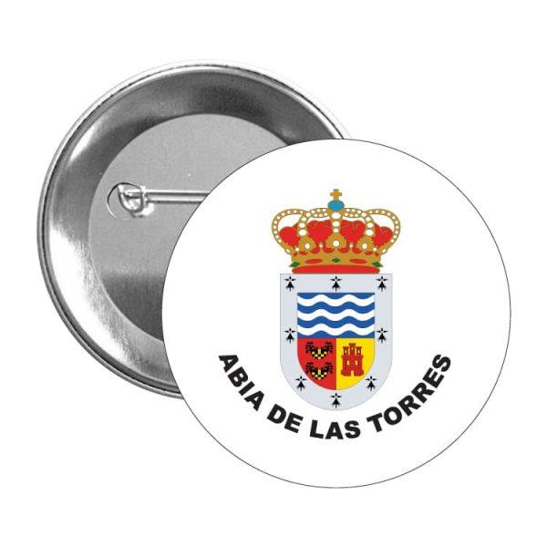 1007 chapa escudo heraldico abia de las torres