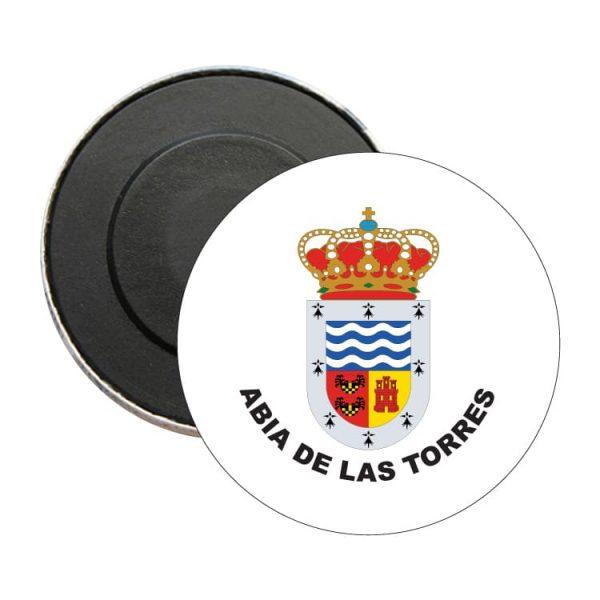 iman redondo escudo heraldico abia de las torres