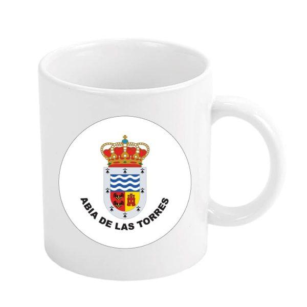 taza escudo heraldico abia de las torres
