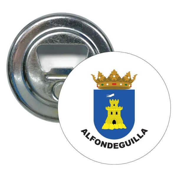 abridor redondo escudo heraldico alfondeguilla