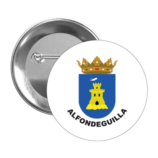 chapa escudo heraldico alfondeguilla